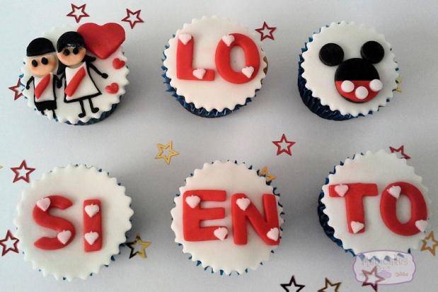 Cupcakes Amor Y Amistad